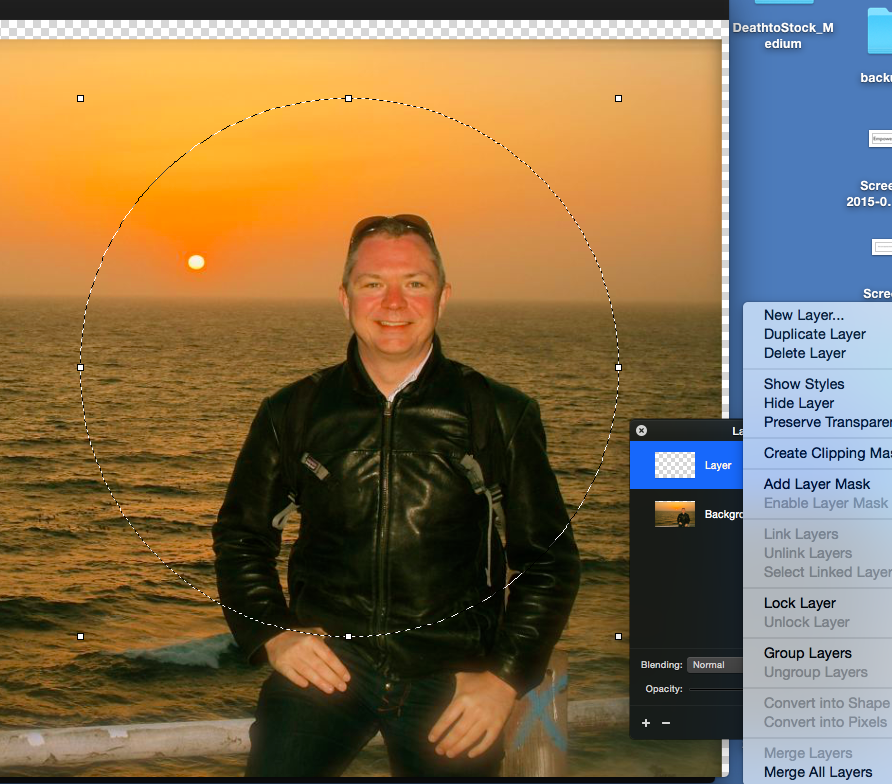 how to crop images in a circle shape pixelmator community